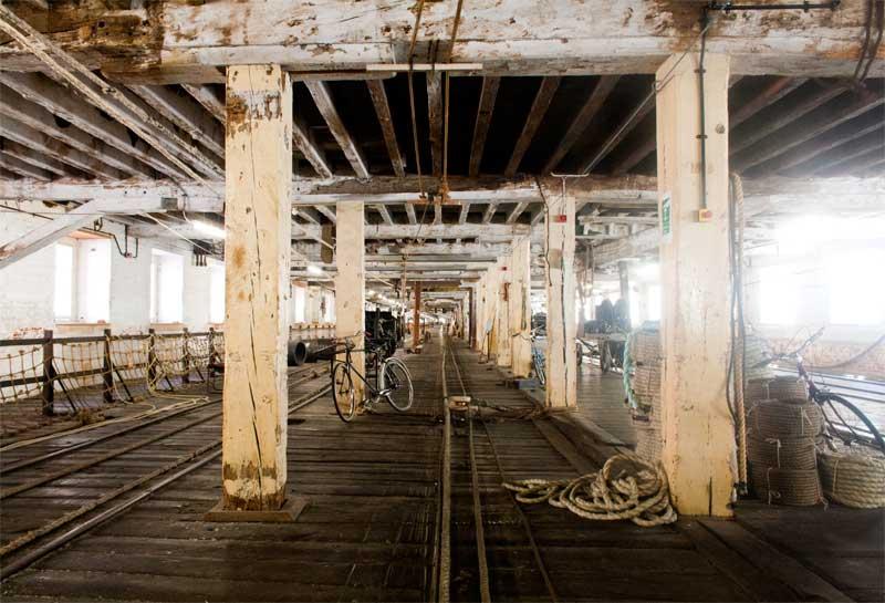 Chatham Historic Dockyard Ropery